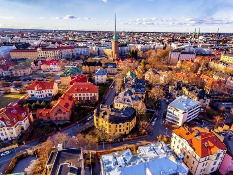 Los vecindarios más densos de Helsinki podrían traer beneficios a la creciente población de la ciudad.
