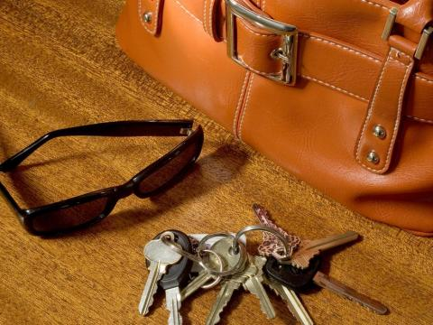 House or car keys may seem pretty old-fashioned.