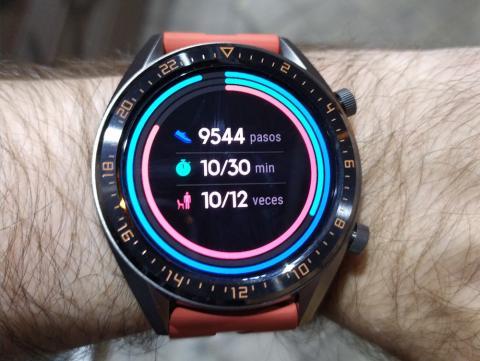 Huawei Watch GT-2F8 uso de noche