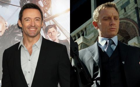 Hugh Jackman y Daniel Craig.