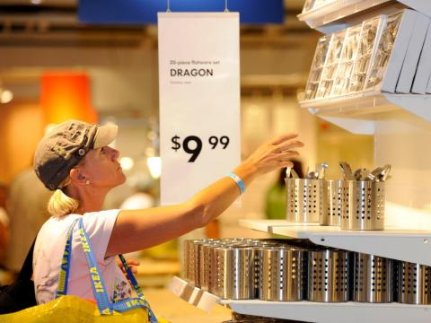 IKEA's products are named using a special system.