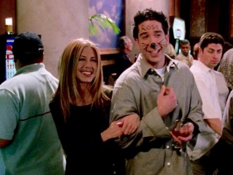 After breaking up, Ross and Rachel may have been able to be just friends.