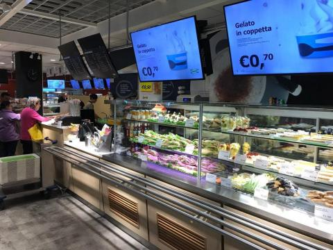 This Italian IKEA in Genoa offers Gelato for its customers ...