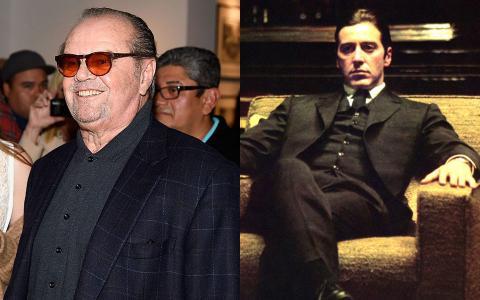 Jack Nicholson y Al Pacino.