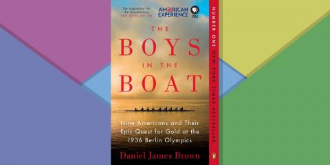 "James Gorman: ""The Boys in the Boat"""