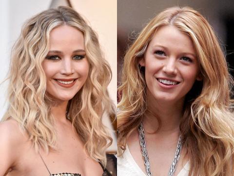 Jennifer Lawrence y Blake Lively.