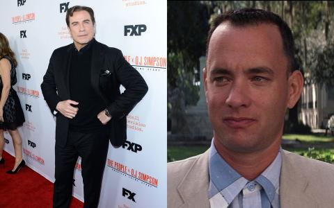 John Travolta y Tom Hanks.