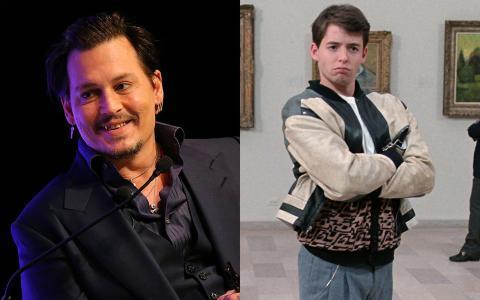 Johnny Depp y Matthew Broderick.