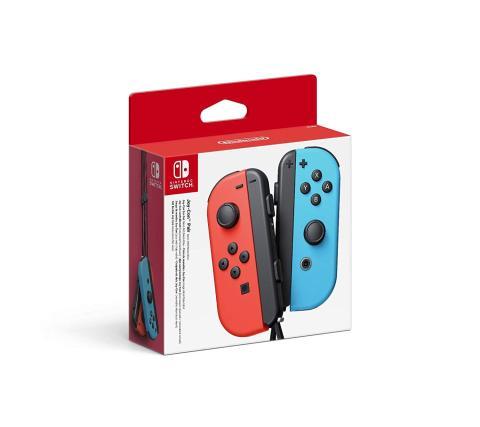Joy-Con azul y rojo