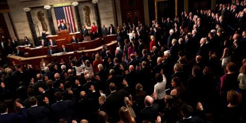Miembros de la Cámara de Representantes de Estados Unidos.