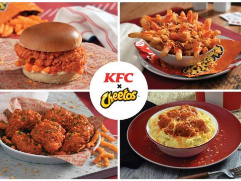 KFC is launching a Cheetos Sandwich across America, and it represents a massive shift in the chicken chain's strategy