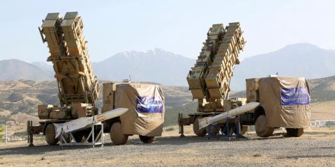 El sistema Khorad utilizado para derribar el dron estadounidense la semana pasada.