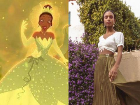 Kobeissi originally wanted to dress the models in ball gowns and crowns that matched the classic Disney costumes, but her friends suggested she capture what princesses would wear in 2019.