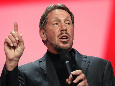 El cofundador de Oracle, Larry Ellison.