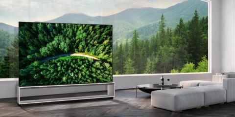 The LG 88Z9 is an 88-inch 8K OLED TV with a price tag of $42,000.