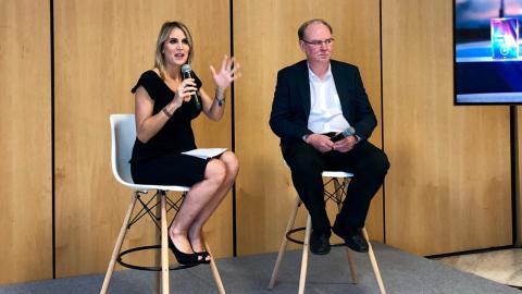Kent Larson, en el encuentro privado en el que estuvo Business Insider España.