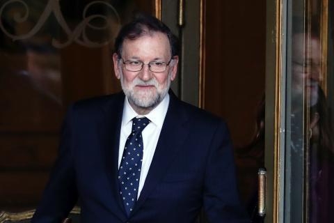 El expresidente del Gobierno y exlíder del PP, Mariano Rajoy
