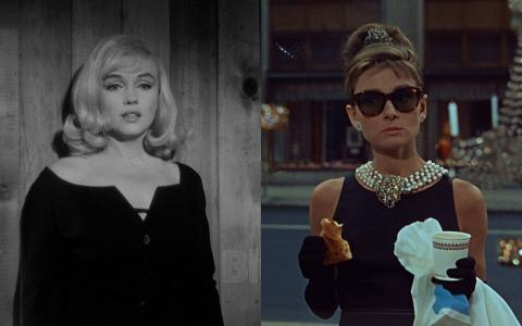 Marilyn Monroe y Audrey Hepburn