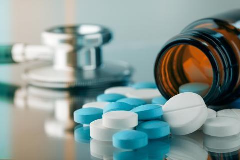 Medicamento en pastillas.