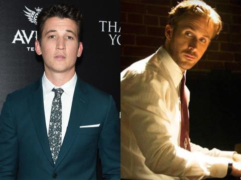 Miles Teller y Ryan Gosling.