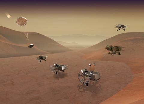 Misión Dragonfly de la NASA