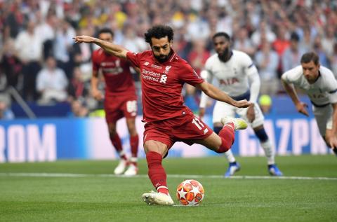 Mohamed Salah, jugador egipcio del Liverpool