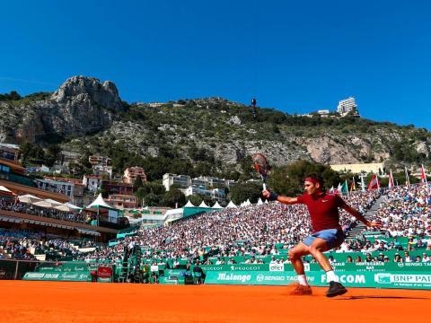 Las montañas de Mónaco son un buen telón de fondo para el Masters de Montecarlo