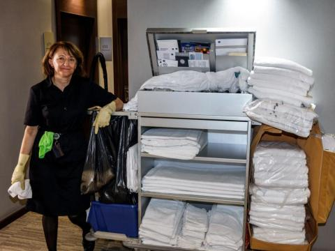Most importantly, treat housekeepers like human beings