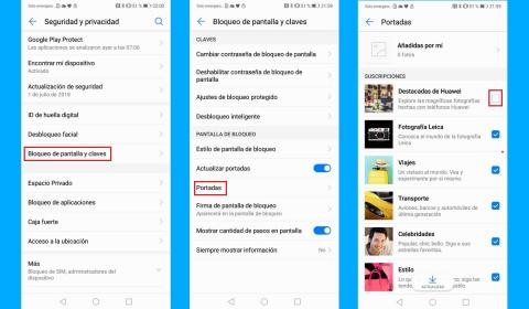 Los móviles Huawei muestran anuncios en la pantalla de bloqueo, así se desactivan