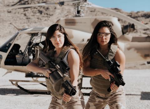 mujeres armas instagram