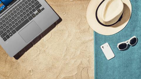Por qué necesitas un portátil ligero para tus vacaciones