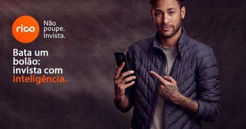 Neymar, en un anuncio de Rico