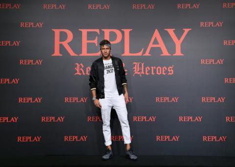 Neymar, en un evento patrocinado por Replay