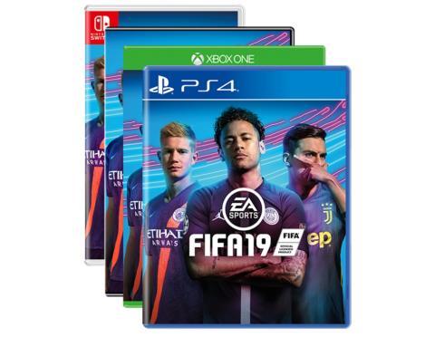Neymar, en la portada del videojuego Fifa 19 de EA