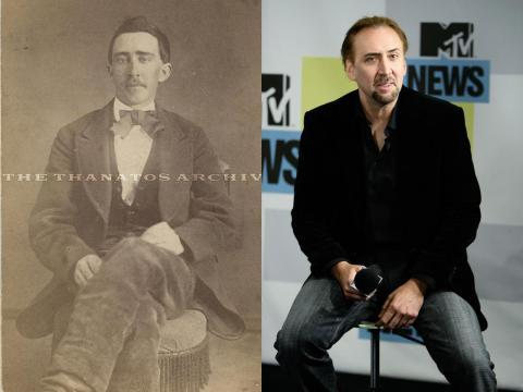 Nicolas Cage se parece a este prisionero de guerra confederado.