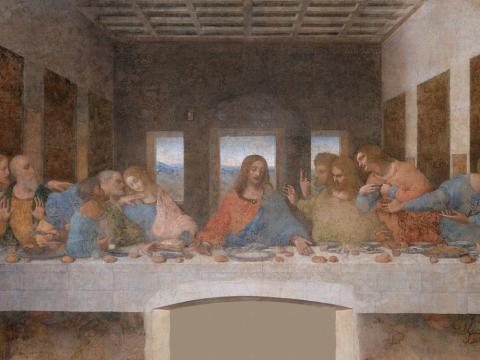 Nadie puede hacer fotos de 'La última cena' de Leonardo da Vinci