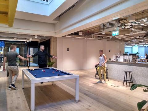 Una de las oficinas del espacio de coworking WeWork en Dublín.