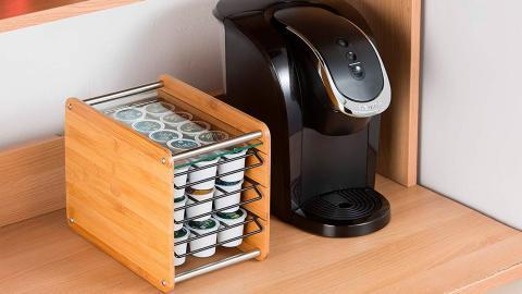 Organizador de cápsulas de café con capacidad para 48 monodosis de JackCubeDesign