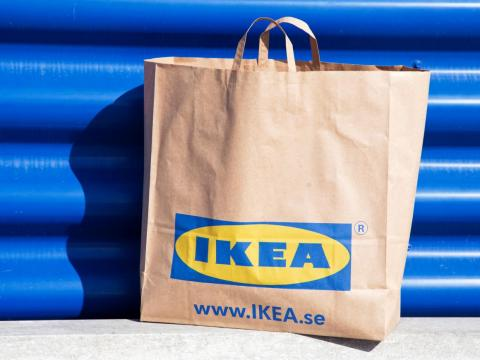 Originally, IKEA sold small goods like pens and wallets.