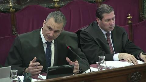 Ortega Smith, de Vox, como parte de la acusación popular en el Supremo