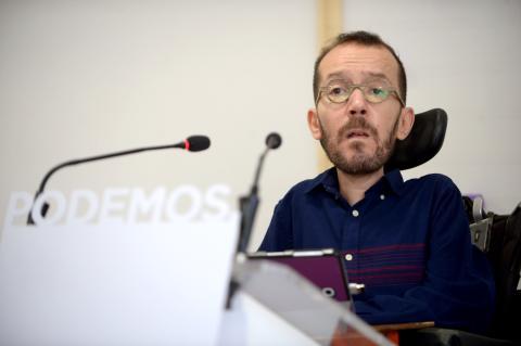 Pablo Echenique, de Podemos.