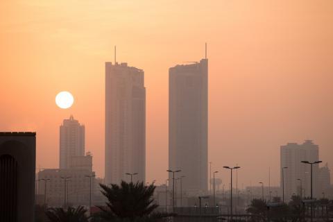 Panorámica de Manama, en Bahréin