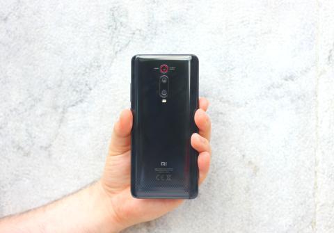 Parte de atrás del Xiaomi Mi T9