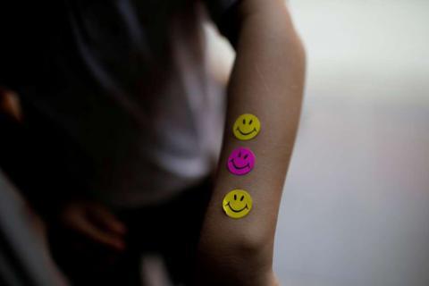 Pegatinas de Smiley
