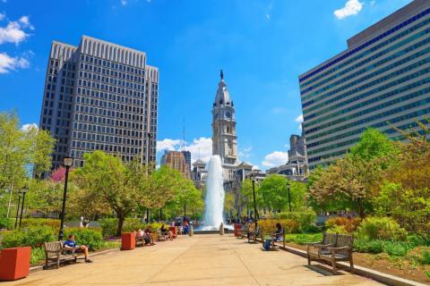 Filadelfia es una de las ciudades más transitables de Estados Unidos.