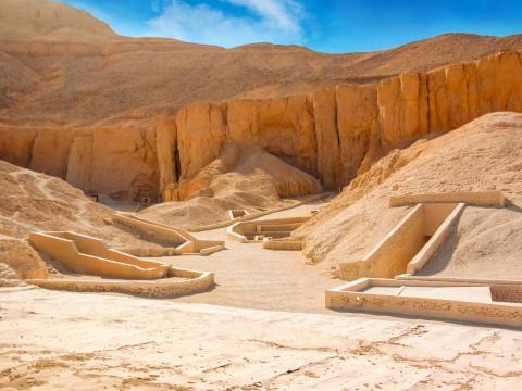 Las fotografías están prohíbidas dentro del Valle de los Reyes