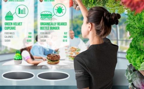 Los platos se diseñarán específicamente para cada huésped.