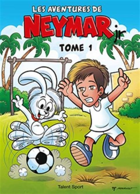 Portada de un cómic sobre Neymar de los Estudios Maurício de Sousa