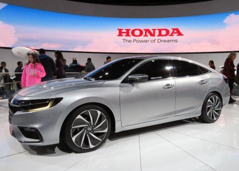 Una presentación de un modelo de Honda Insight