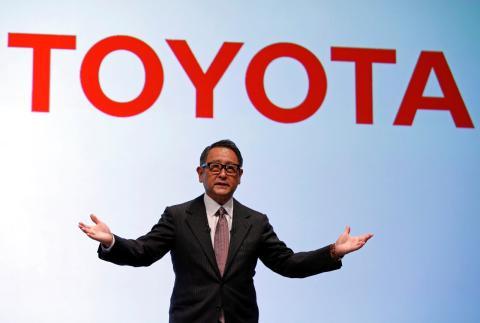 El presidente de Toyota, Akio Toyoda